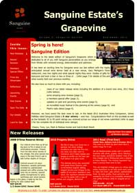 Sanguine Estate's Grapevine, September 2011