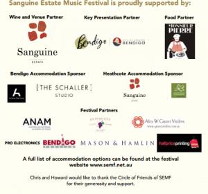 SEMF Sponsors